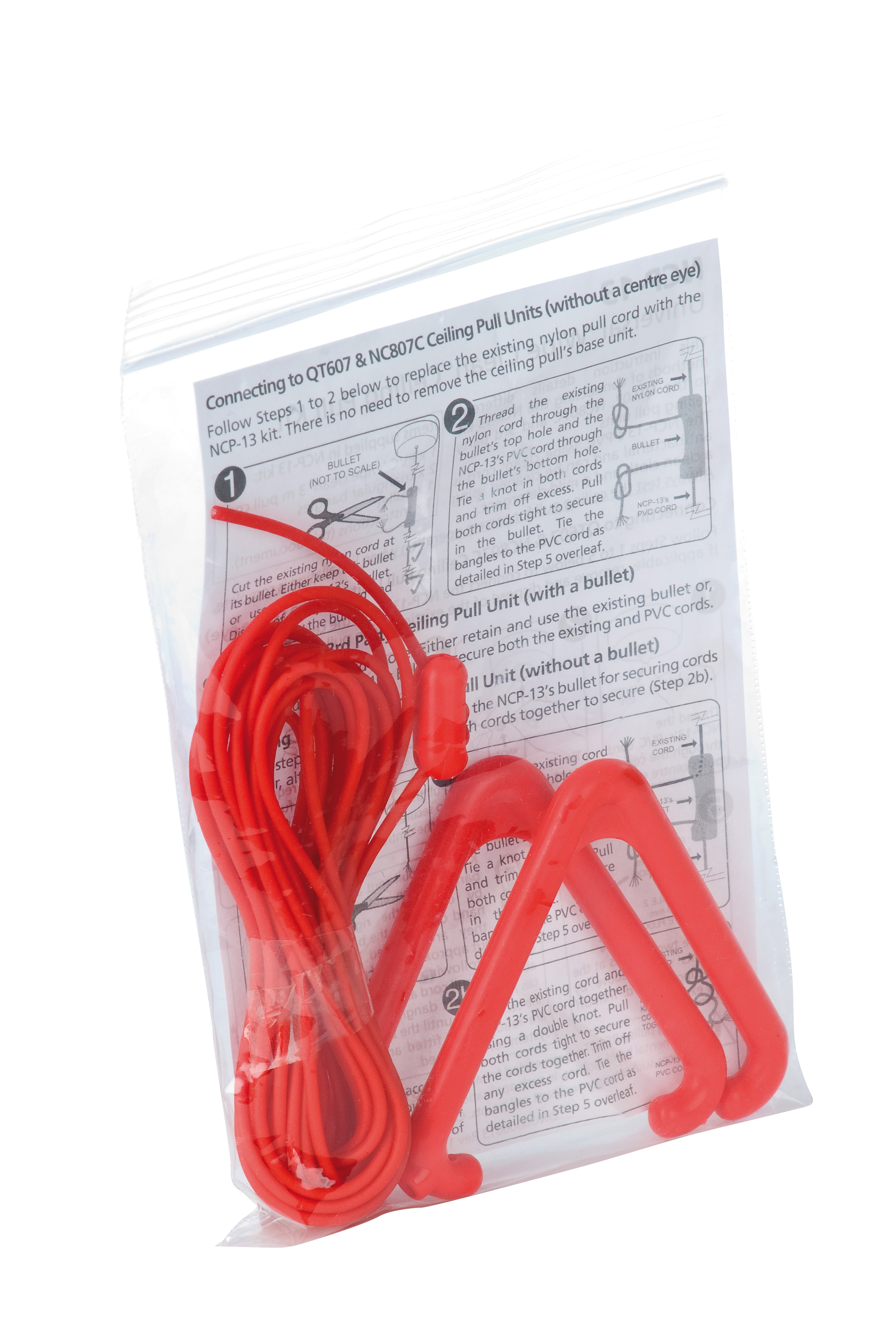 Anti Bacterial Wipe Clean Pull Cord Accessory Pack C Tec Fire Wiring A Light Switch Uk Ncp 13