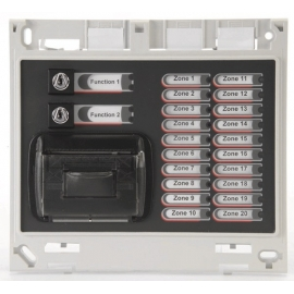 ZFP 20 Zone Indicator Module c/w Name Slots, Printer & 2 Switches