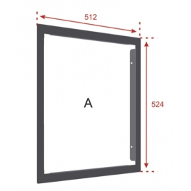 Flush Mounting Bezel for ZFP Standard Cabinet