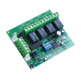 ZFP 4 Way Relay PCB (half size)