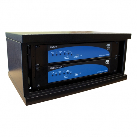 DLR9 Dual 1000m2 Phased Array Loop Amplifier Back
