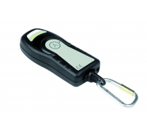Rechargeable IR/RF Transmitter (push for call, pull for attack)