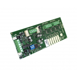 ZFP 4 Way Detector Zone and 2 Way Conventional Sounder Circuit PCB (full size)
