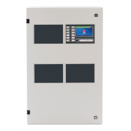ZFP Touchscreen Controlled Addressable Fire Panel (Medium Cabinet)