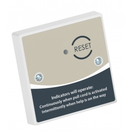 Accessible Toilet Reset Point c/w Sounder