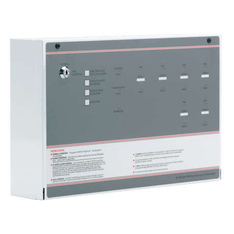 Ff384 2 Fp 4 Zone Conventional Fire Alarm Panel