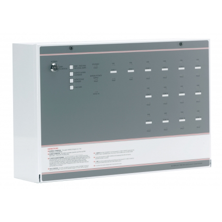 FF388-2 FP 8 Zone Conventional Fire Panel