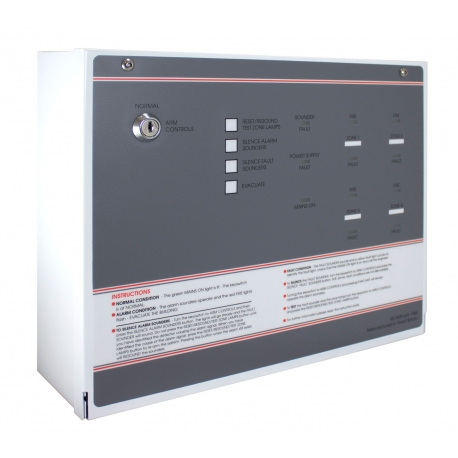 FF384-3 FP 4 Zone Economy Conventional Fire Panel