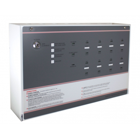 FF388-3 FP 8 Zone Economy Conventional Fire Panel