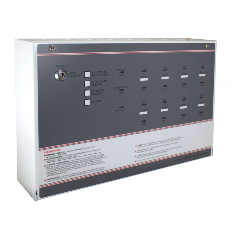Ff388 3 Fp 8 Zone Economy Conventional Fire Alarm Panel