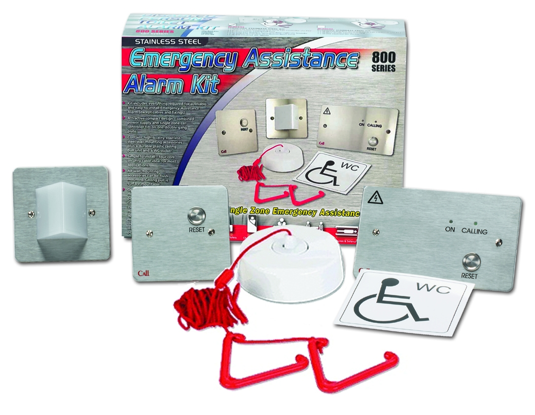 NC951/SS Stainless Steel Emergency Assistance Alarm