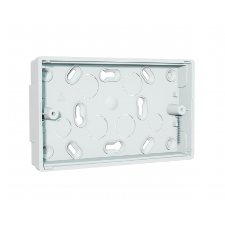 NCP-25 Double Gang Surface Interface Plate, shallow