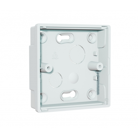 NCP-23 Single Gang Surface Interface Plate, shallow