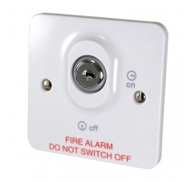 Fire Alarm Control Panel Mains Keyswitch