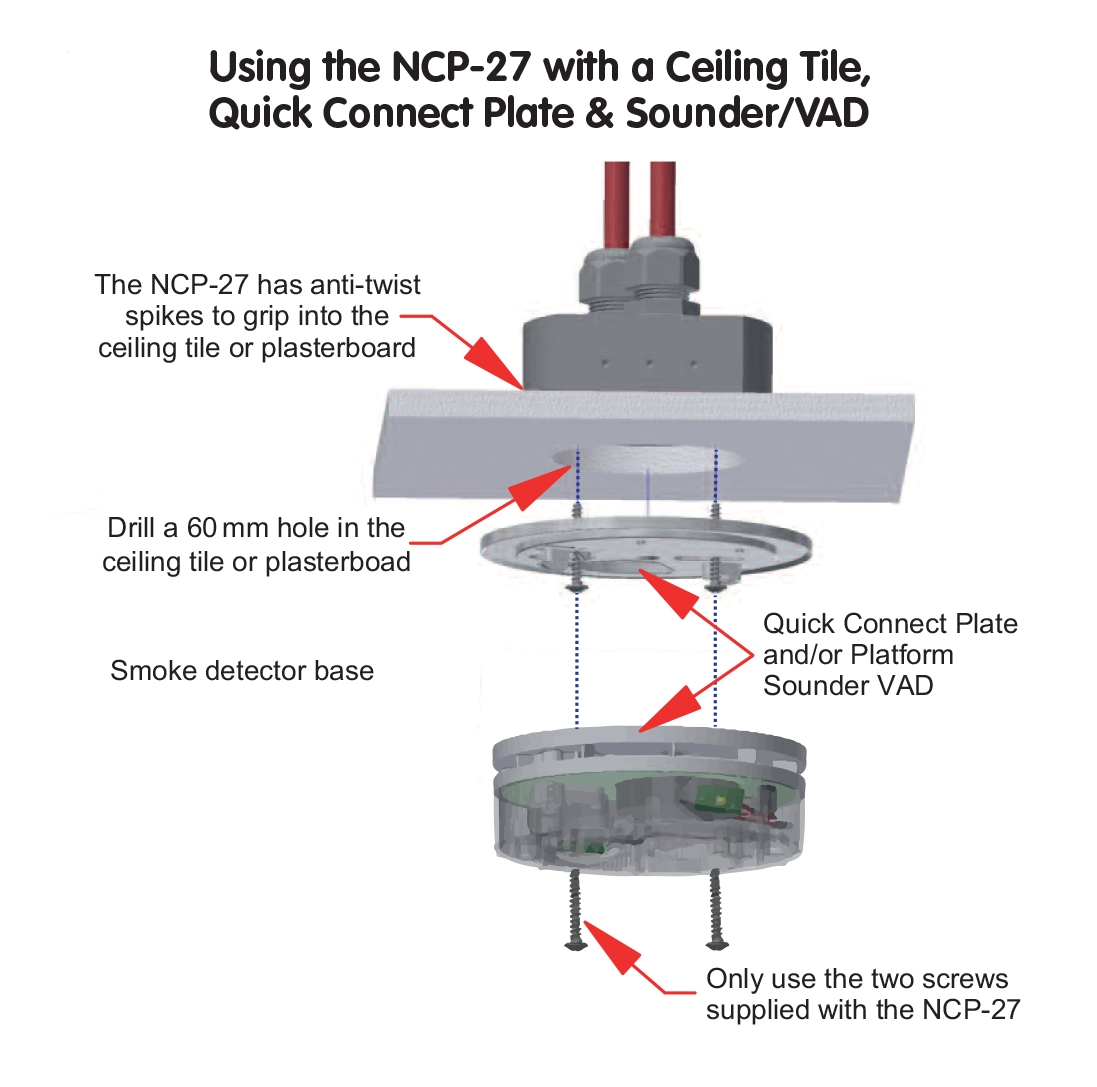 Ncp 27 Adapatable Conduit Box K40 Mic Wiring Diagram Adaptable Connection Example 4