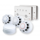 HUSH-ACTIV BS 5839-6 Grade C Stand-Alone Domestic Fire Alarm Kit