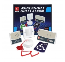 Accessible Disabled Persons Toilet Alarm Kit