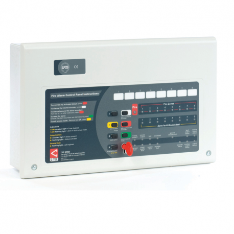 CFP AlarmSense 4 Zone Conventional Fire Alarm Panel