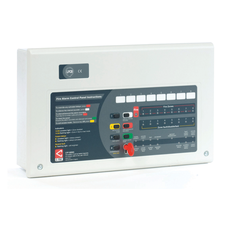 cfp alarmsense 4 zone two wire fire alarm panel cfp alarmsense 4 zone two wire fire alarm panel c tec fire ctec disabled alarm wiring diagram at gsmx.co
