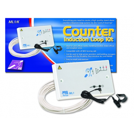 ML1/K1 1.2m2 Double Gang Counter Induction Loop System