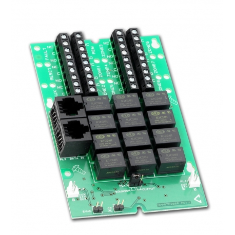 CFP764 relay output card (8 zone)