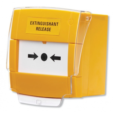 BF372 Yellow Extinguishant Release Call Point, Surface