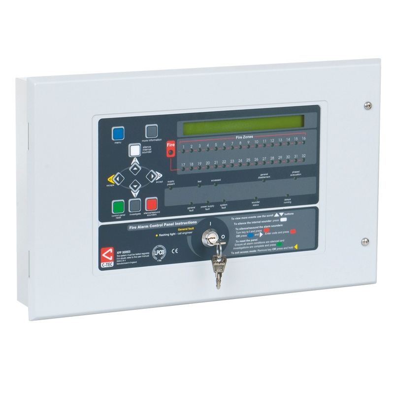 XFP Apollo 1-2 Loop Fire Panels - C-TEC | Fire Alarms | Call Systems