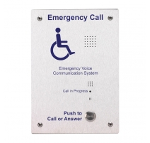 evc302f brushed stainless steel disabled refuge outstation flush disabled refuge (type b) outstations c tec fire alarms call ctec disabled alarm wiring diagram at soozxer.org