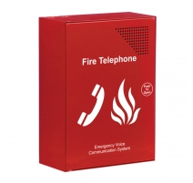 Red Fire Telephone Outstation c/w Handset (push to open)