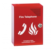 Red Fire Telephone Outstation c/w Handset (key lockable)