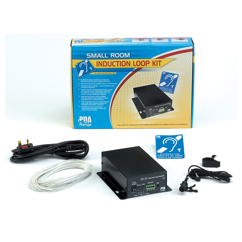 a7c3a414a51a64 50m2 Small Room Hearing Loop System (tie desk mic version)