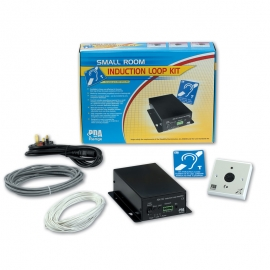 50m2 Small Room Hearing Loop System (Omni-directional plated mic version)