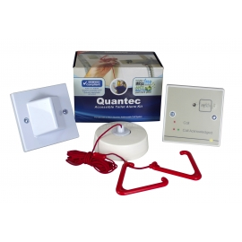 Quantec Accessible Disabled Persons Toilet Alarm Kit