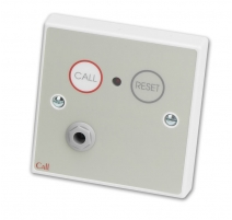 Standard Call Point, Button Reset c/w Remote Socket