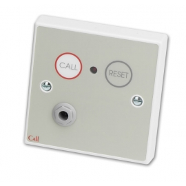 Emergency Infrared Call Point, Button Reset c/w Remote Socket