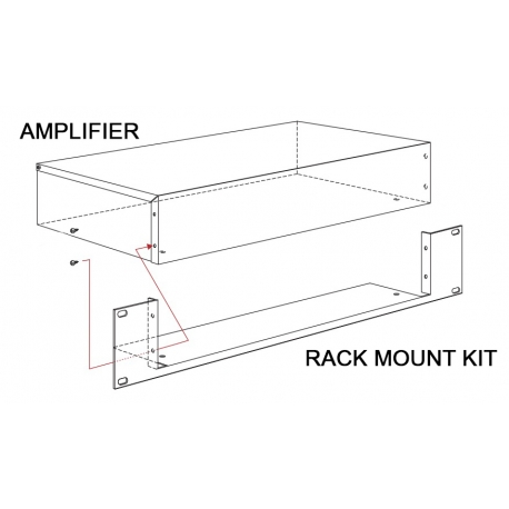 PDA/RM Rack Mount Kit