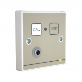 Quantec Addressable Call Point, Button Reset c/w Remote Socket
