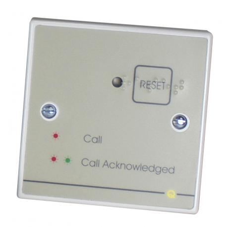 QT605S Accessible Toilet Reset Point c/w Sounder