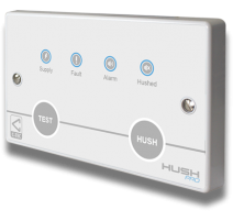 Hush-Pro Networkable Domestic Fire Alarm Controllers